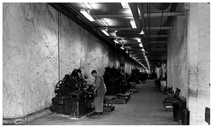 Tunnel 3 - Connection Rod Production - 1942